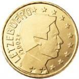 50 cents (other side, country Luxemburg) 0.5
